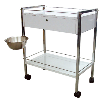 42WD Beauty Trolley With Bowl (Optional Item)