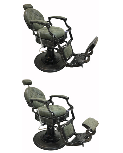 31363CG Antique Barber And Make-up Chair