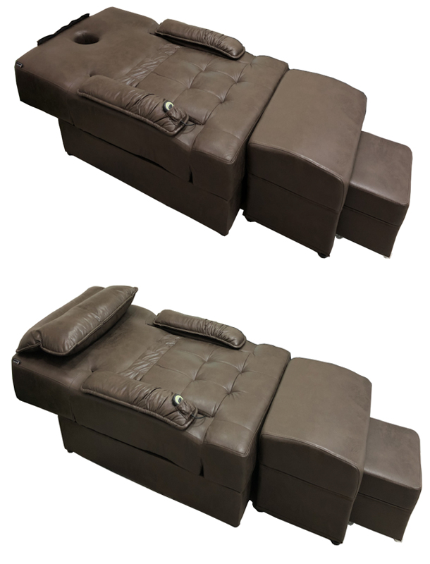 4591 Electric Foot Reflexology Chair / Body Massage Couch